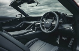Lexus LC 500 Convertible, 2020, interior