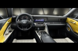 Lexus LC coupe Limited Edition, 2018, interior