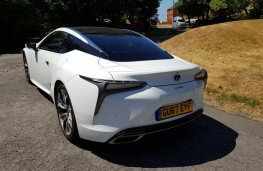 Lexus LC 500, rear profile