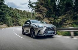 Lexus NX, 2021, front, action