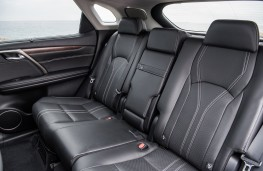 Lexus RX 450h, 2019, rear seats