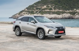 Lexus RX 450h, 2019, side, static