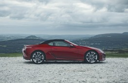 Lexus LC 500 Convertible, 2020, side, static
