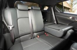 Lexus CT 200h Sport, rear seats