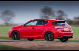 Lexus CT 200h Sport, side action