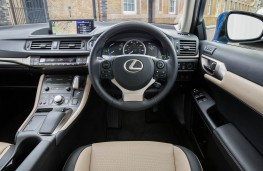 Lexus CT200h, dashboard