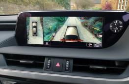 Lexus ES 300h, dash detail