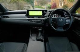 Lexus ES 300h, dashboard
