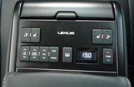 Lexus ES 300h, rear console