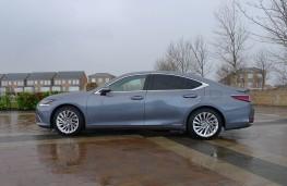 Lexus ES 300h, side static