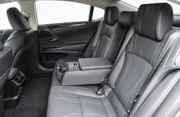 Lexus ES300h, interior, rear