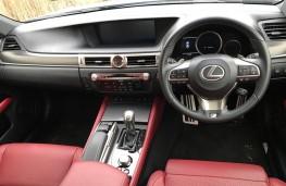 Lexus GS450h, interior