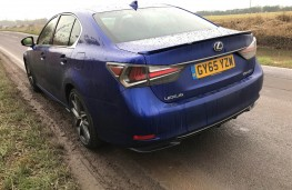 Lexus GS450h, rear