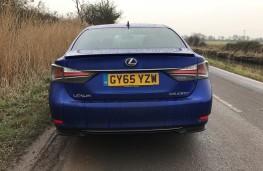 Lexus GS450h, rear