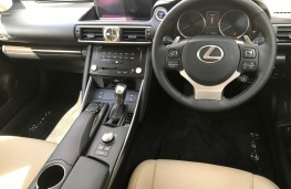 Lexus IS 300h, interior