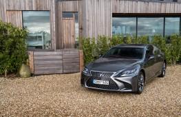 Lexus LS 500h, 2018, front, static