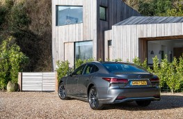 Lexus LS 500h, 2018, rear