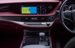 Lexus LS 500h, 2018, display screen