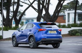 Lexus NX 300h F Sport, rear action