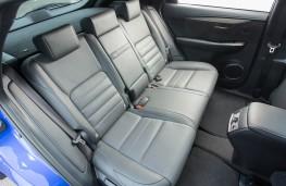 Lexus NX 300h F Sport, rear seats