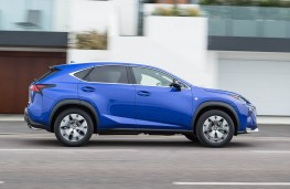 Lexus NX 300h F Sport, side action