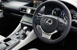 Lexus RC 300h, dashboard