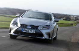 Lexus RC 300h, front action