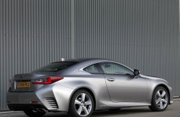 Lexus RC 300h, rear static