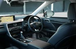Lexus RX450h L, interior
