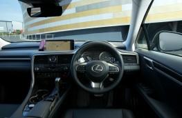 Lexus RX450h L, dashboard