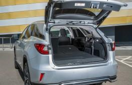 Lexus RX450h L, boot