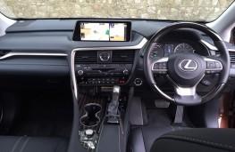 Lexus RX450h, interior
