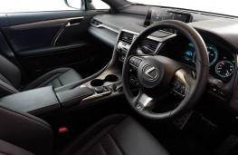 Lexus RX200T, dashboard