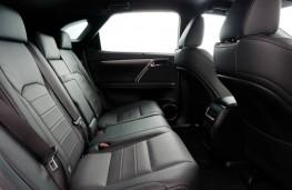 Lexus RX200T, rear seats