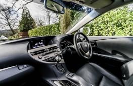 Lexus RX 450h, dashboard