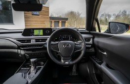 Lexus UX, interior, dashboard