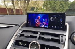 Lexus NX 300h F-Sport hybrid, touchscreen