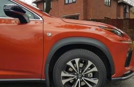 Lexus NX 300h F-Sport hybrid, wheel