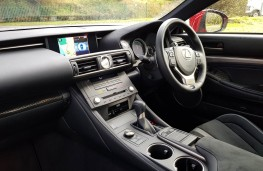 Lexus RC F Carbon, cabin