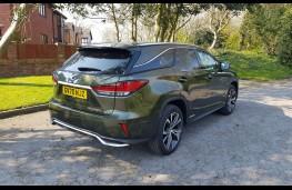 Lexus RX L Premium, rear profile