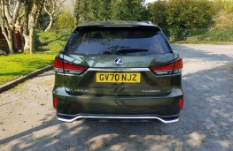 Lexus RX L Premium, rear