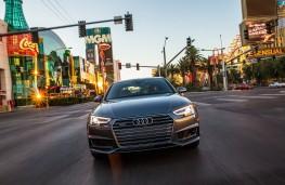 Audi traffic light sensors, front