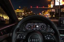 Audi traffic light sensors, instrument panel