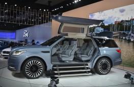 Lincoln Navigator concept, 2016, Los Angeles auto show