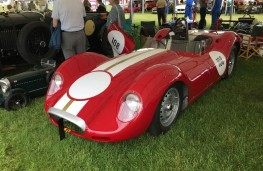 Cholmondeley Power and Speed 2016, Lister Jaguar, 1958