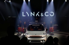 Lynk and Co 01, reveal, front