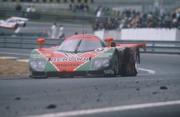 Mazda 787B, 1991, Le Mans, front