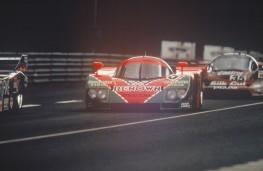 Mazda 787B, 1991, Le Mans, race