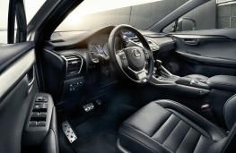 Lexus NX 300h, 2017, interior
