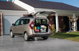 Dacia Lodgy, boot
